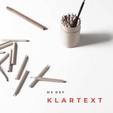 Klartext EP Cover - Kl